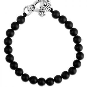 king_baby_bracelet_black_onyx_beaded_bracelt_wither_sterling_silver_toggle_clasp