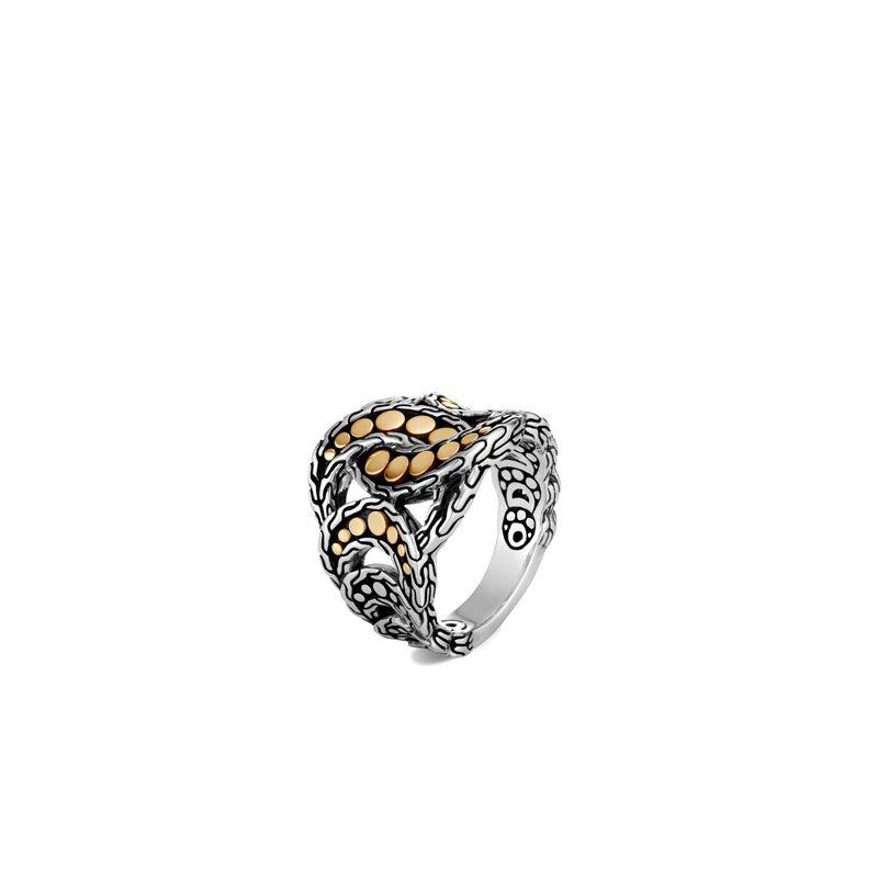 John Hardy Two-Tone Dot Ring