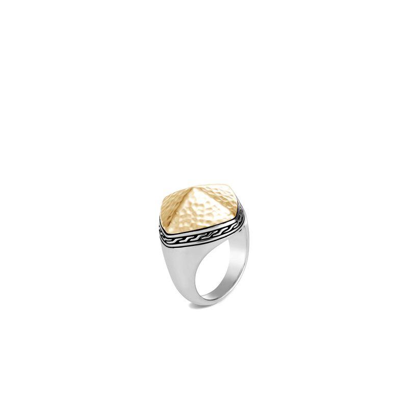 John Hardy Classic Chain Hammered Sugarloaf Ring