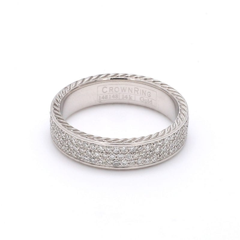 Bailey's Estate Pave Diamond Ring