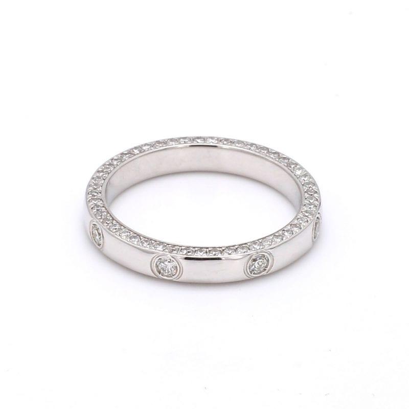 Bailey's Estate Diamond Station Ring
