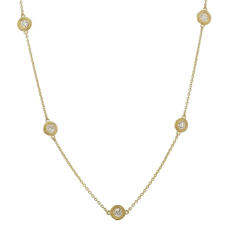 Bailey's Club Collection Diamond Station Necklace