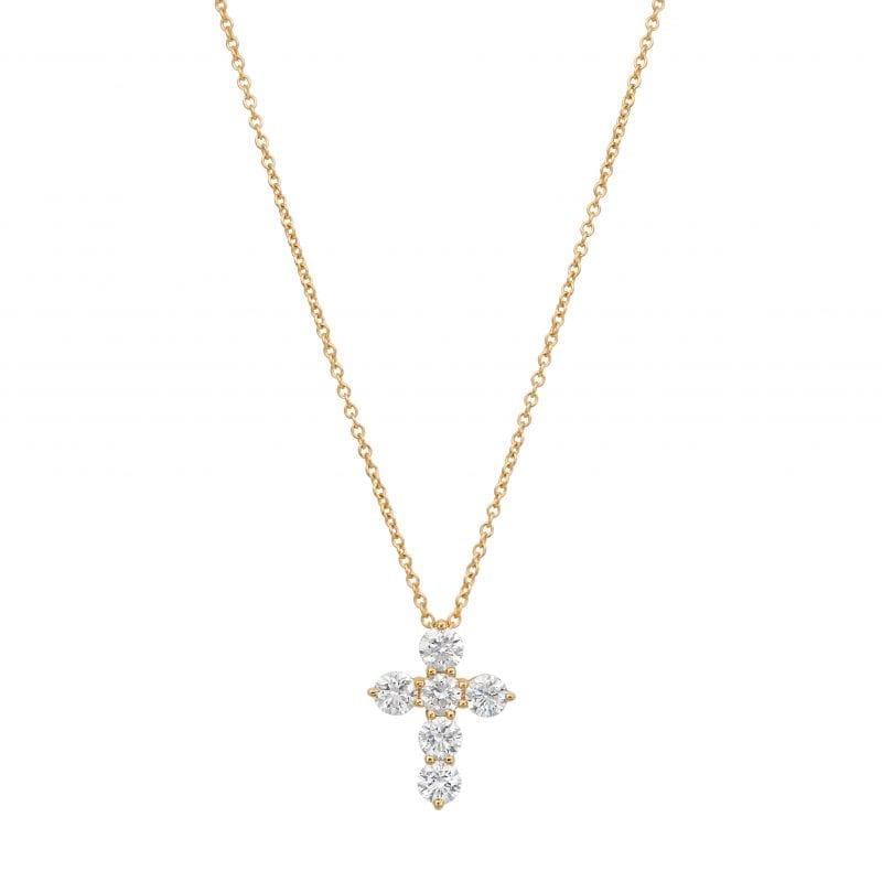 Bailey's Club Collection Diamond Cross Necklace