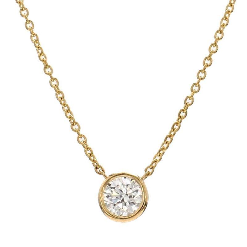 Bailey's Club Collection Best Bezel Diamond Pendant Necklace