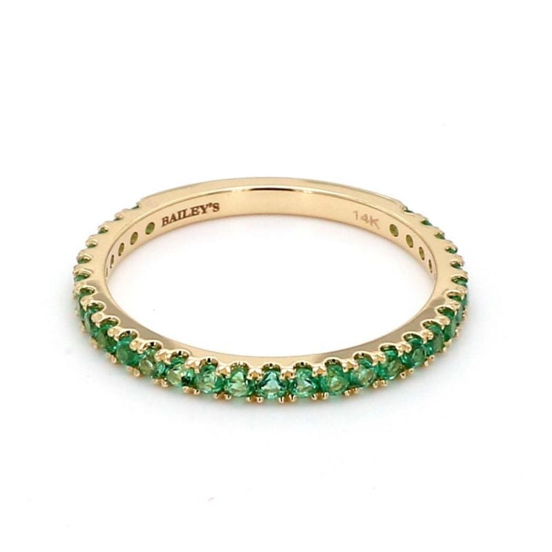 May Birthstone Ring