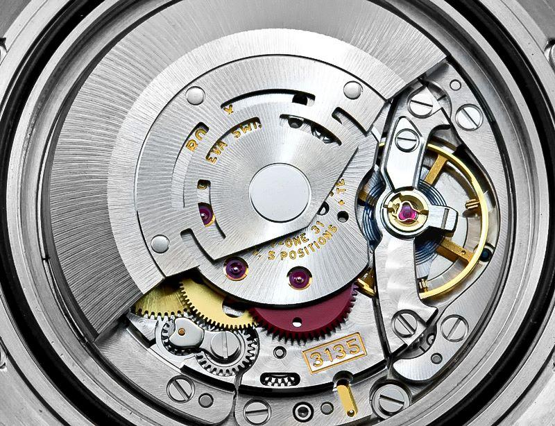 Rolex 3135 Caliber Movement watch gear