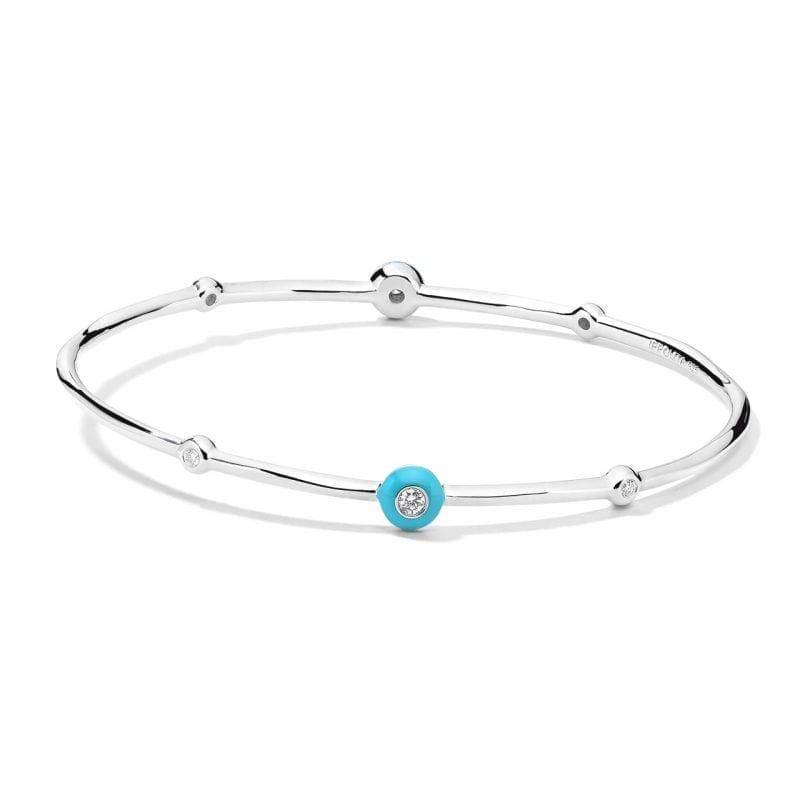 Ippolita Stardust 6-Stone Bracelet in Turquoise