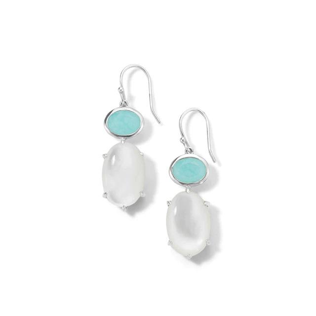 Ippolita 2-Stone Drop Earrings in Sterling Silver