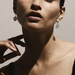 Ippolita Flower Drop Earrings in Sterling Silver