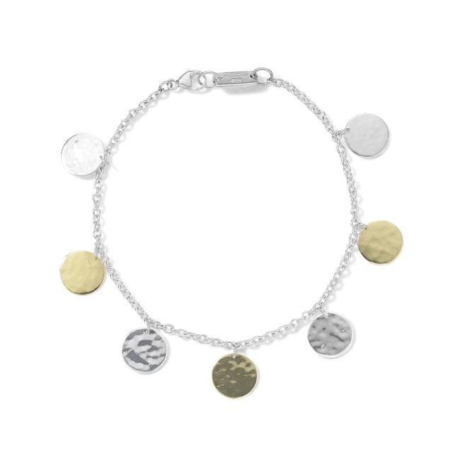 Ippolita Hammered Paillette Bracelet in Chimera