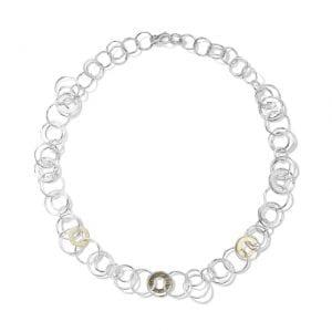 Ippolita Crinkle Jet Set Necklace in Chimera
