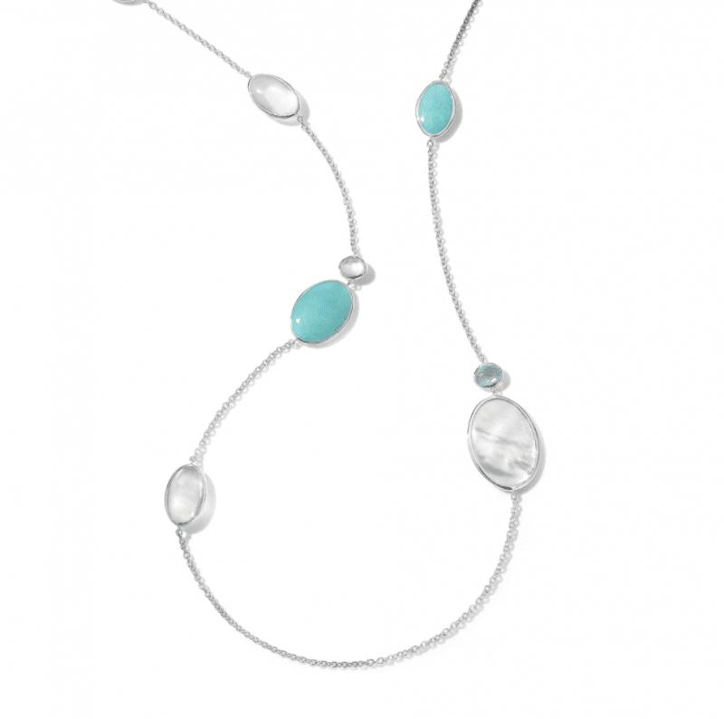 Ippolita Medium Stone Collar Necklace in Cascata