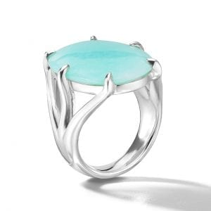 Ippolita Oval Stone Ring in Sterling Silver