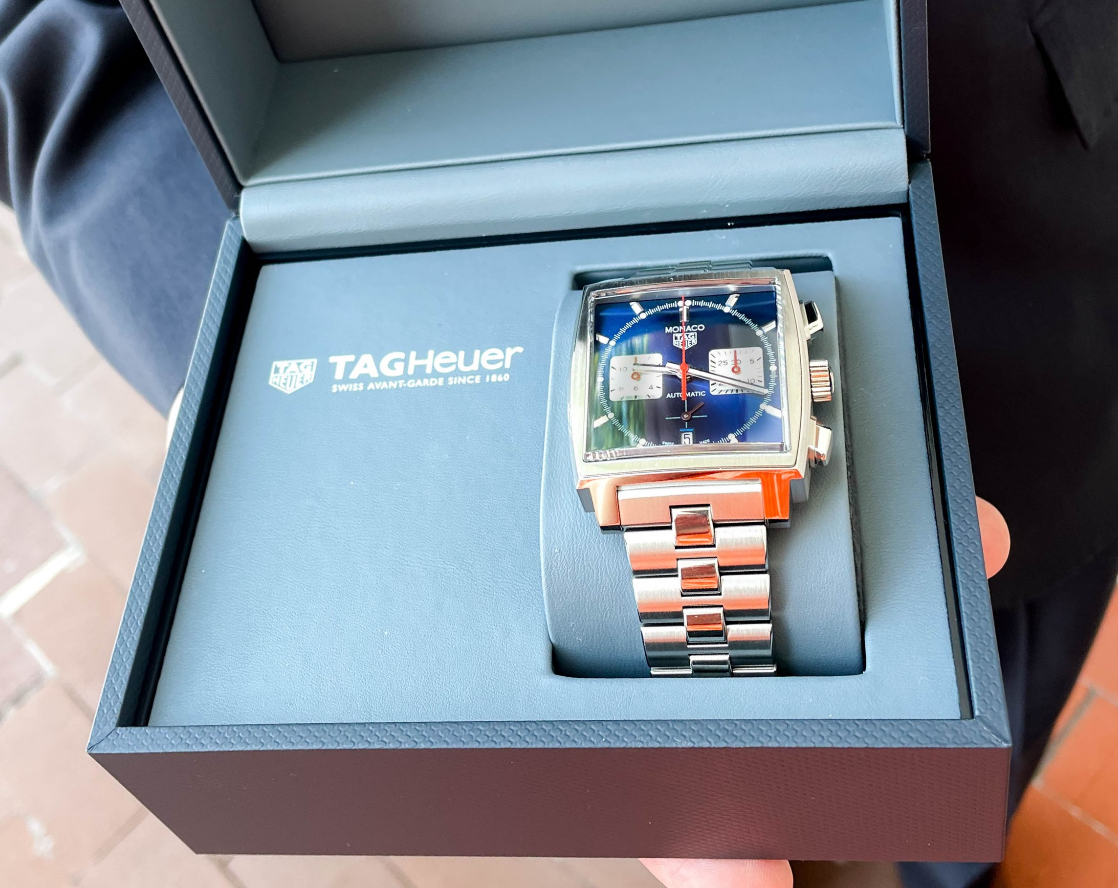 TAG Heuer in Box