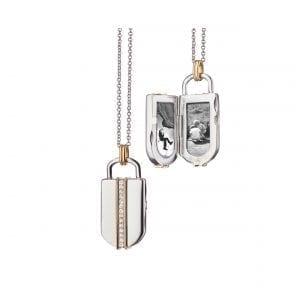 Monica Rich Kosann Lock Inspired Locket