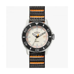 Front view of the Shinola 40mm Sea Creatures Watch