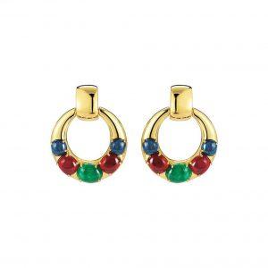 Seaman Schepps Torino Gemstone Earrings