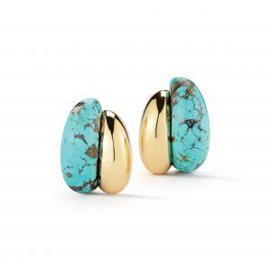 Seaman Schepps Silhouette Earrings in Turquoise
