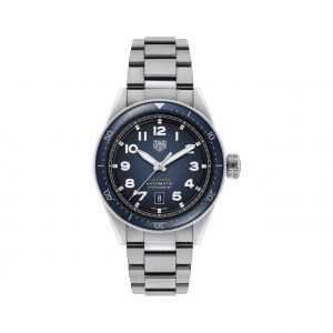 Front view of the Tag Heuer 42mm Autavia Automatic Watch