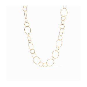 Julie Vos Colette Textured Necklace