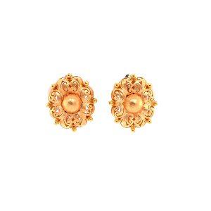 Bailey's Estate Etruscan Inspired Oval Earrings