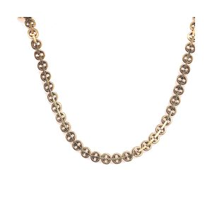 Bailey's Estate Victorian Bar and Circle Link Necklace