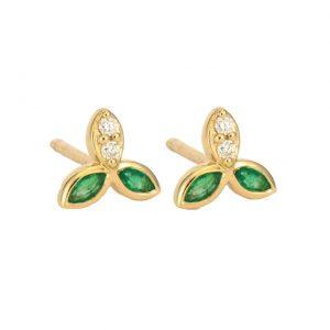 Three Stories Jewelry Petal Studsv